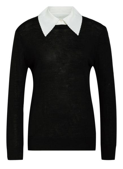 CLAUDIE PIERLOT Pullover MOMENT, Farbe: SCHWARZ/ WEISS (Bild 1)