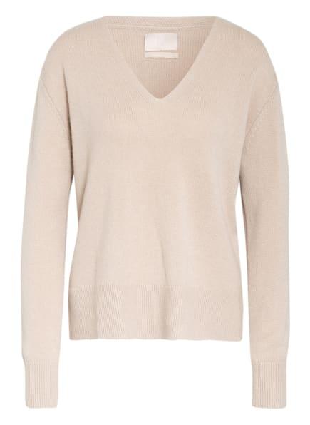 Mrs & HUGS Cashmere-Pullover, Farbe: BEIGE (Bild 1)
