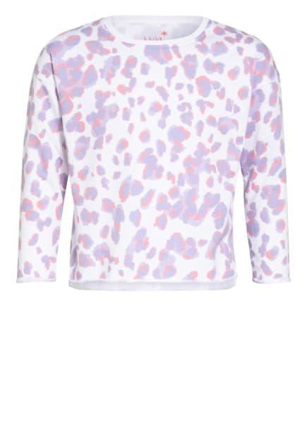 Juvia Sweatshirt , Farbe: WEISS/ LILA/ LACHS (Bild 1)