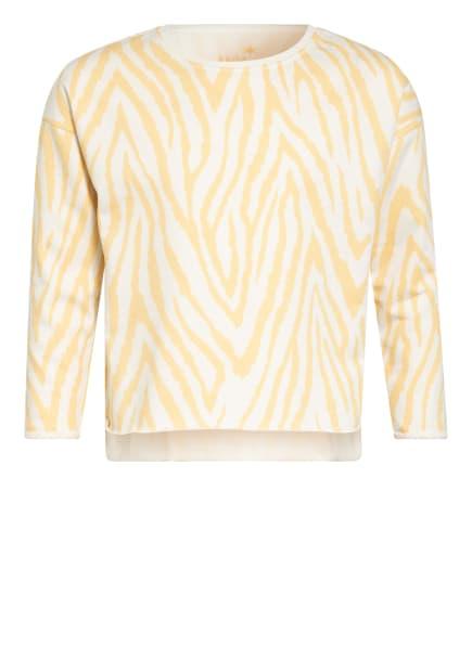 Juvia Sweatshirt , Farbe: GELB/ ECRU (Bild 1)