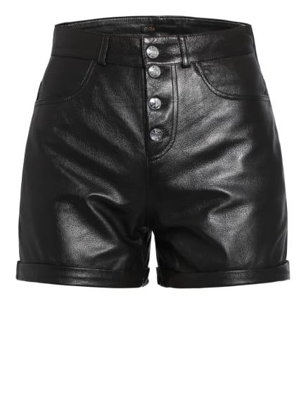 maje Leder-Shorts IRINE, Farbe: SCHWARZ (Bild 1)