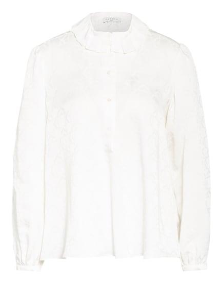 sandro Jacquard-Blusenshirt, Farbe: CREME (Bild 1)