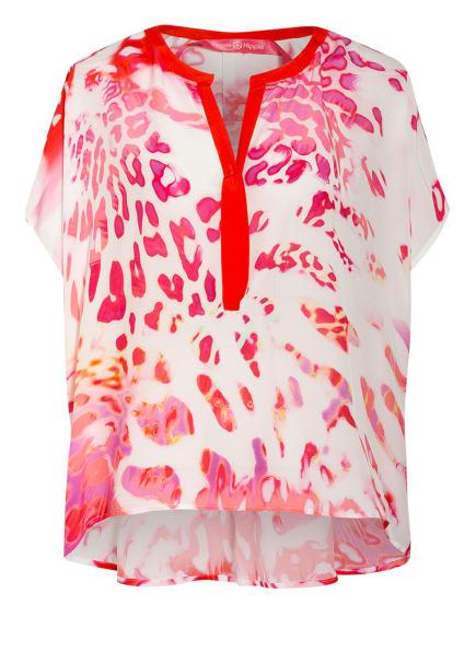 yippie hippie Blusenshirt , Farbe: WEISS/ PINK/ HELLLILA (Bild 1)