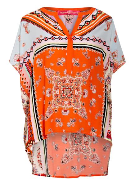 yippie hippie Blusenshirt , Farbe: ORANGE/ HELLBLAU/ HELLGELB (Bild 1)