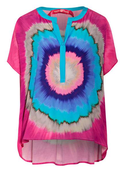 yippie hippie Blusenshirt , Farbe: PINK/ TÜRKIS/ BLAU (Bild 1)