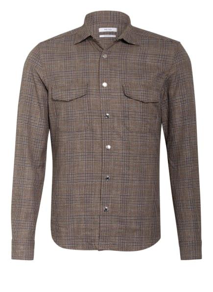 REISS Hemd PEAKY Regular Fit , Farbe: DUNKELBRAUN/ BLAU (Bild 1)