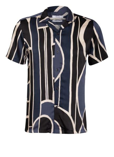 REISS Resorthemd DECO Regular Fit, Farbe: BLAU/ SCHWARZ/ WEISS (Bild 1)