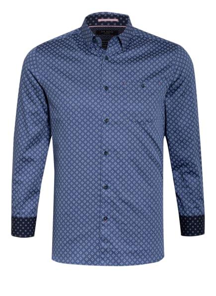TED BAKER Hemd CROISSY Extra Slim Fit, Farbe: BLAU/ WEISS (Bild 1)