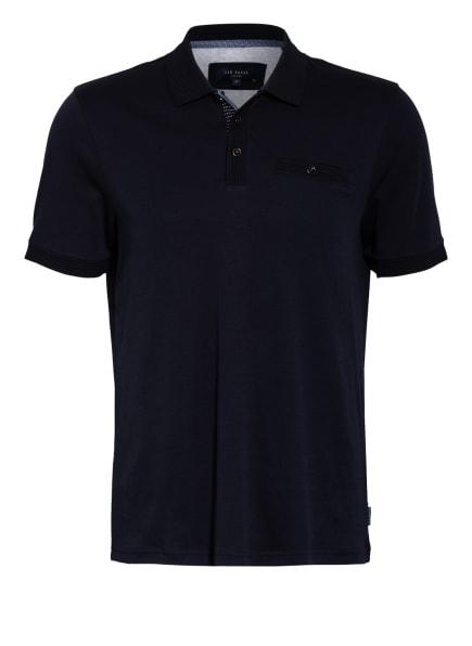 TED BAKER Jersey-Poloshirt PUMPIT, Farbe: DUNKELBLAU (Bild 1)