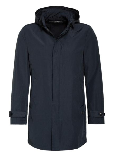 Marc O'Polo Jacke mit abnehmbarer Kapuze, Farbe: DUNKELBLAU (Bild 1)