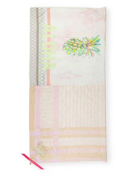 yippie hippie Tuch, Farbe: HELLGRAU/ BEIGE/ ROSA (Bild 1)