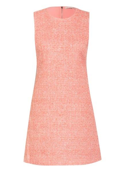 alice+olivia Tweed-Kleid COLEY mit Glitzergarn, Farbe: ROSÉ/ SILBER (Bild 1)