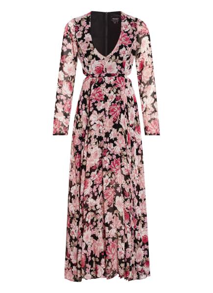 BARDOT Kleid GARDEN FLORAL , Farbe: SCHWARZ/ ROSÉ/ WEISS (Bild 1)