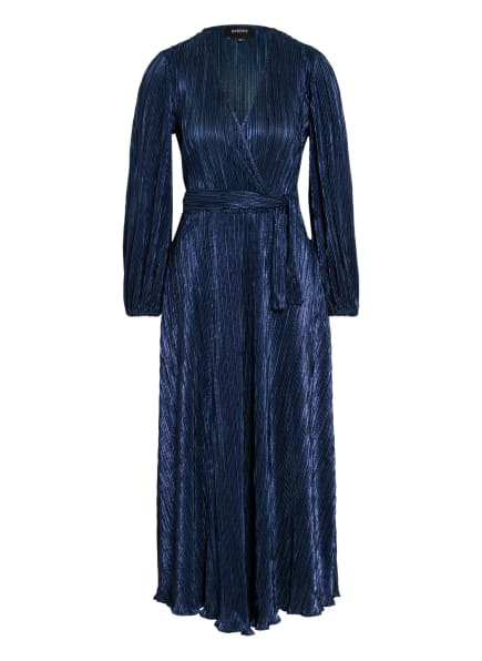 BARDOT Kleid MELISSA in Wickeloptik , Farbe: DUNKELBLAU (Bild 1)