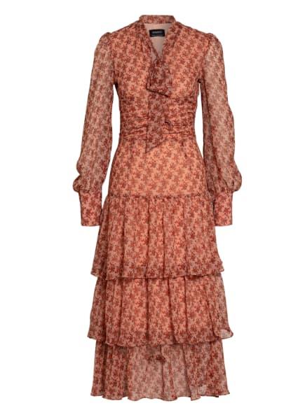 BARDOT Kleid LAINEY, Farbe: ROSÉ/ ORANGE/ SCHWARZ (Bild 1)