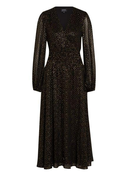 BARDOT Kleid BLAKE, Farbe: SCHWARZ/ GOLD (Bild 1)