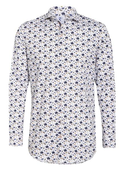 R2 Amsterdam Hemd Modern Fit, Farbe: WEISS/ BLAU/ BEIGE (Bild 1)