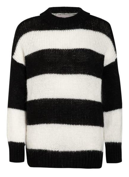 CARTOON Pullover, Farbe: SCHWARZ/ WEISS (Bild 1)