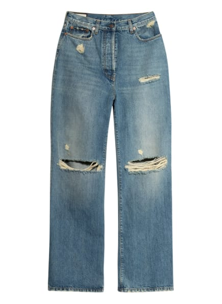 GUCCI Destroyed Jeans, Farbe: 4011 Blue (Bild 1)
