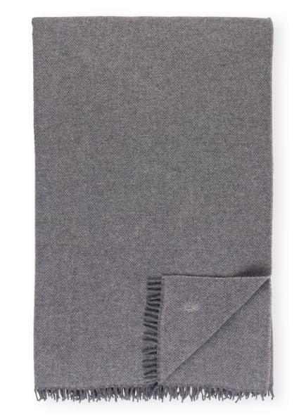zoeppritz Plaid MUST RELAX, Farbe: DUNKELGRAU (Bild 1)