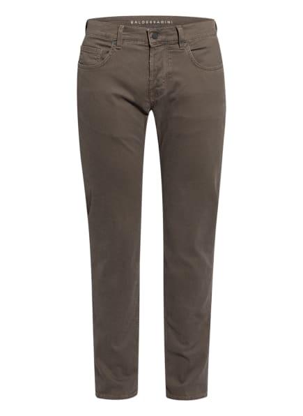 BALDESSARINI Hose Slim Fit, Farbe: TAUPE/ DUNKELBRAUN (Bild 1)