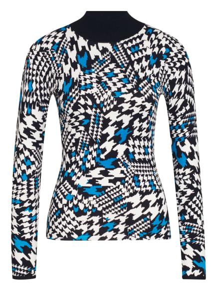 damsel in a dress Pullover, Farbe: SCHWARZ/ WEISS/ BLAU (Bild 1)