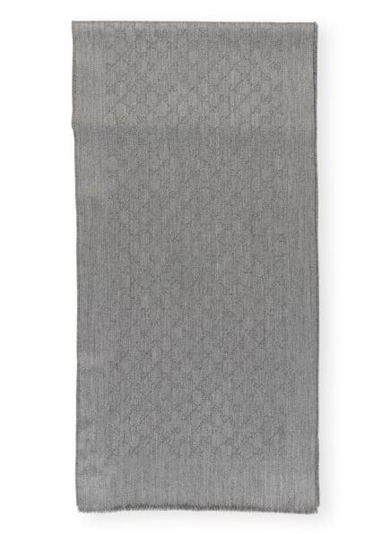 GUCCI Cashmere-Schal, Farbe: GRAU (Bild 1)