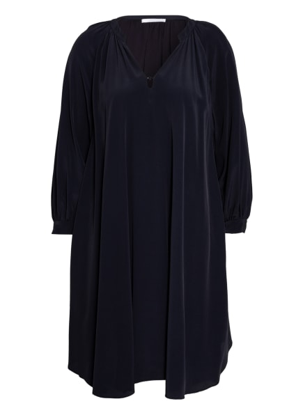 BOSS Kleid DIFLORU mit Seide, Farbe: DUNKELBLAU (Bild 1)