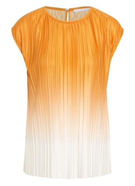 BOSS Blusenshirt EZZIE, Farbe: DUNKELGELB/ WEISS (Bild 1)