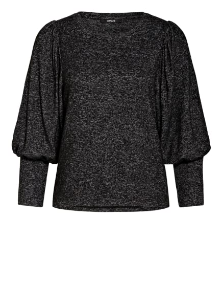 OPUS Pullover SALVONA, Farbe: SCHWARZ/ GRAU/ WEISS (Bild 1)