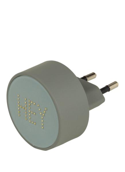DESIGN LETTERS Ladegerät PEARL , Farbe: GRAU (Bild 1)
