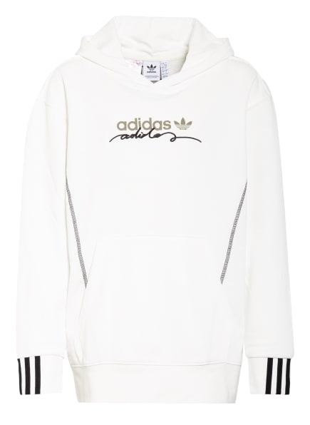 adidas Originals Hoodie, Farbe: WEISS/ SCHWARZ (Bild 1)