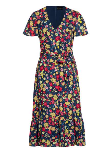 Phase Eight Kleid AILEE, Farbe: PETROL/ DUNKELGELB/ ROT (Bild 1)
