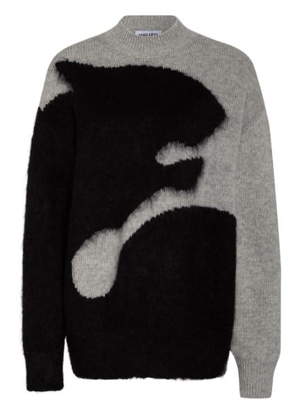 KENZO Pullover, Farbe: GRAU/ SCHWARZ (Bild 1)