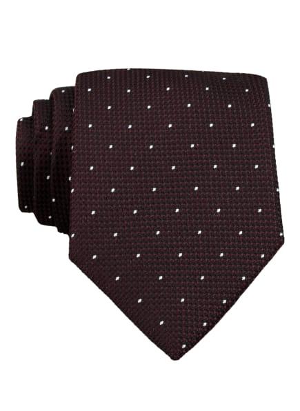 REISS Krawatte LIAM, Farbe: DUNKELROT/ WEISS (Bild 1)