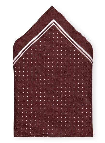 REISS Einstecktuch JUPITER, Farbe: DUNKELROT/ WEISS (Bild 1)