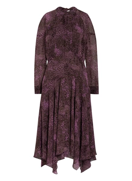 WHISTLES Kleid CARLOTTA, Farbe: SCHWARZ/ LILA (Bild 1)
