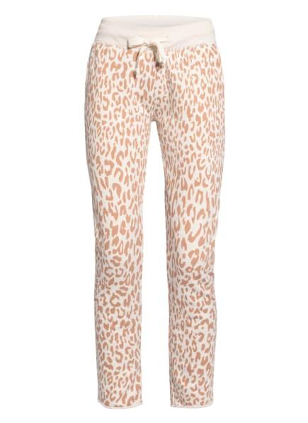 Juvia Sweatpants, Farbe: ECRU/ CAMEL (Bild 1)
