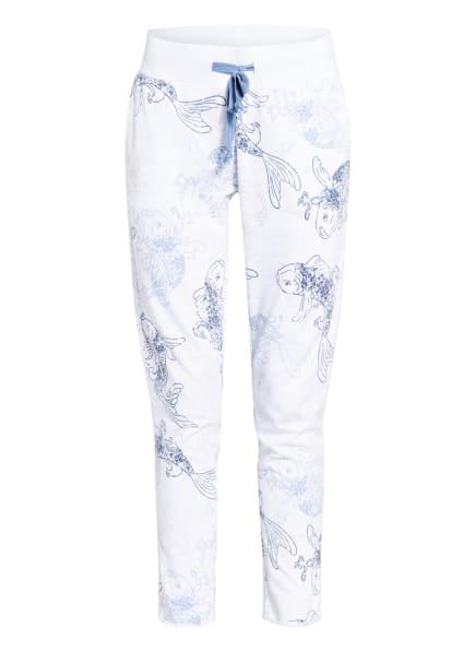 Juvia Sweatpants , Farbe: WEISS/ HELLBLAU/ DUNKELGRAU (Bild 1)