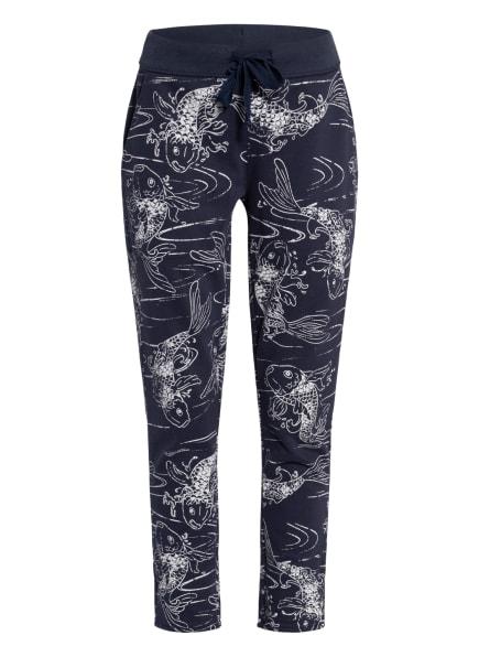 Juvia Sweatpants , Farbe: DUNKELBLAU/ HELLGRAU (Bild 1)
