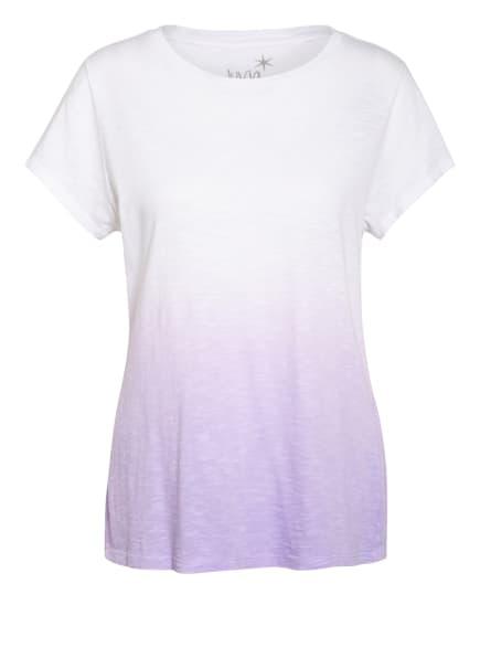 Juvia T-Shirt, Farbe: WEISS/ LILA (Bild 1)