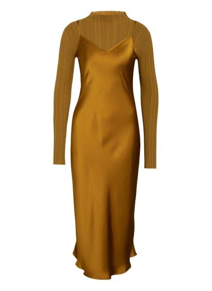 ALL SAINTS 2-in-1-Kleid KARLA, Farbe: GOLD (Bild 1)