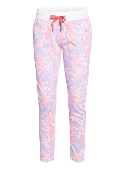 Juvia Sweatpants, Farbe: HELLLILA/ WEISS/ LACHS (Bild 1)
