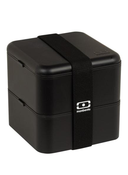 monbento Bento-Lunchbox MB SQUARE , Farbe: SCHWARZ (Bild 1)