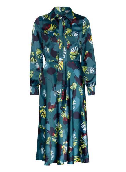 damsel in a dress Kleid SIANASSE , Farbe: DUNKELGRÜN/ PETROL/ GELB (Bild 1)