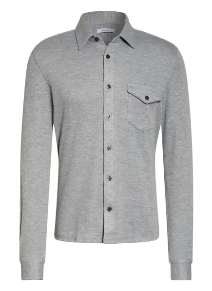 REISS Jerseyhemd SCOTT Slim Fit, Farbe: HELLGRAU (Bild 1)