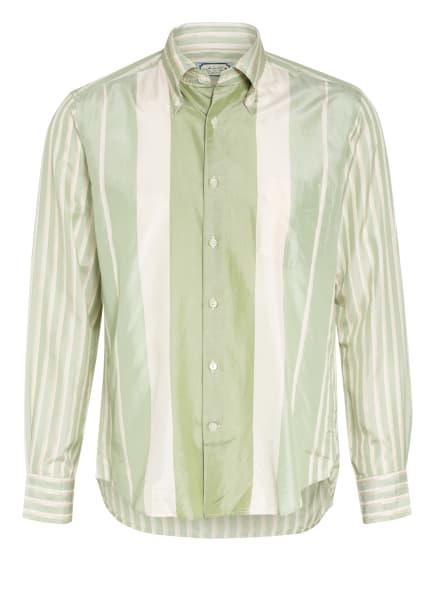 GANT Seidenhemd Regular Fit, Farbe: HELLGRÜN/ WEISS/ CREME (Bild 1)