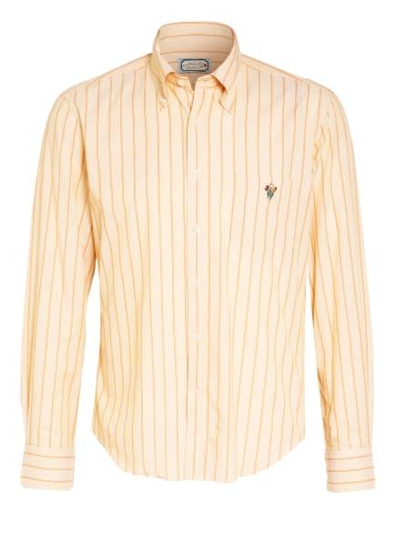GANT Hemd Regular Fit, Farbe: DUNKELGELB/ HELLORANGE (Bild 1)