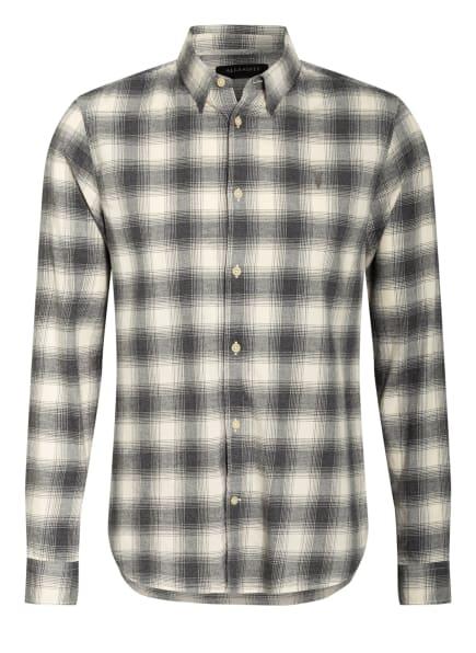ALL SAINTS Hemd DOGWOOD Regular Fit, Farbe: GRAU/ ECRU (Bild 1)