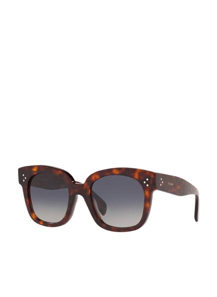 CELINE Sonnenbrille CL000193, Farbe: 4402W1 - HAVANA/ BLAU POLARISIERT (Bild 1)
